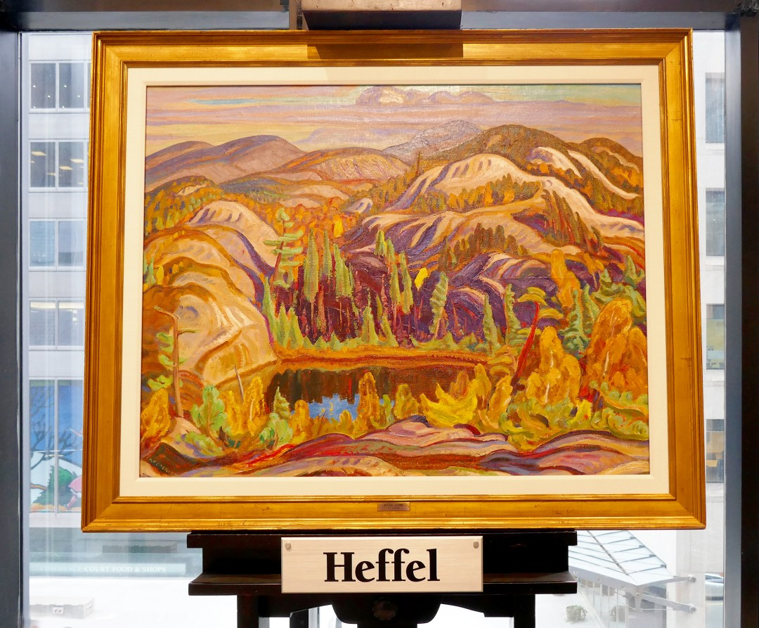 A Y Jackson at Heffel auction