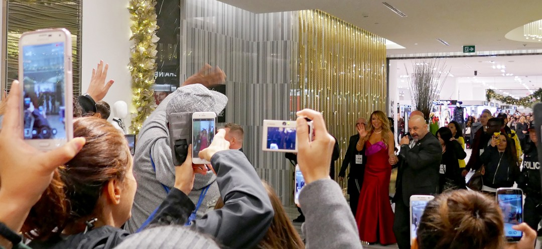 Mariah Carey at the Bay for Christmas