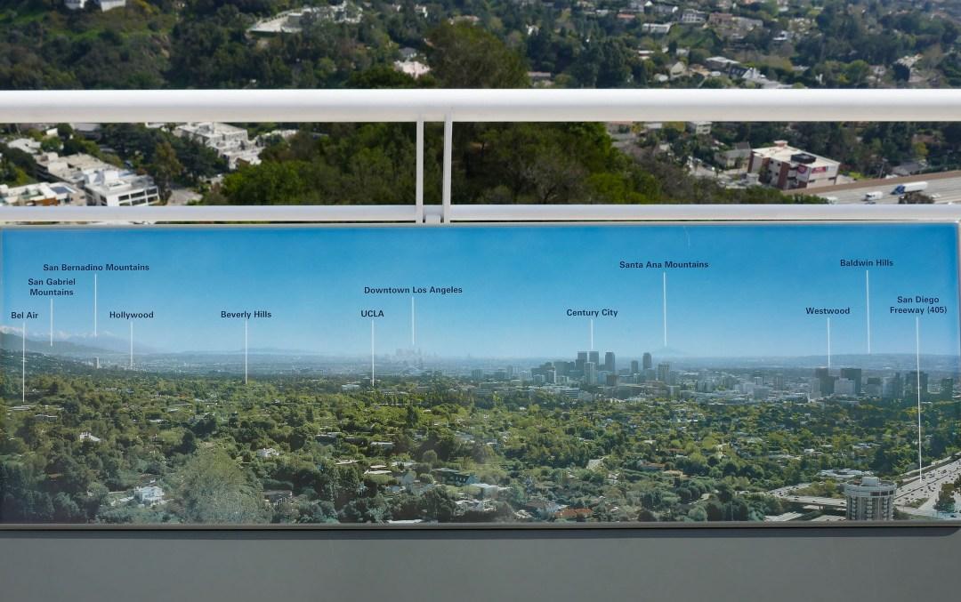 Getty Museum map of LA for boomervoice