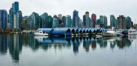 Business District skyline of Vancouver for boomervoice