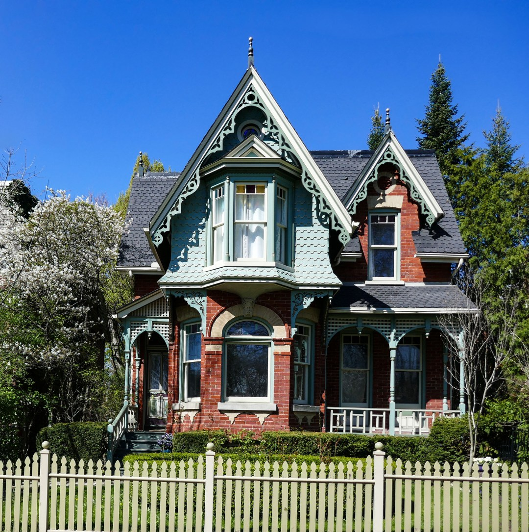 Victorian gingerbread house in Cabbagetown for boomervoice