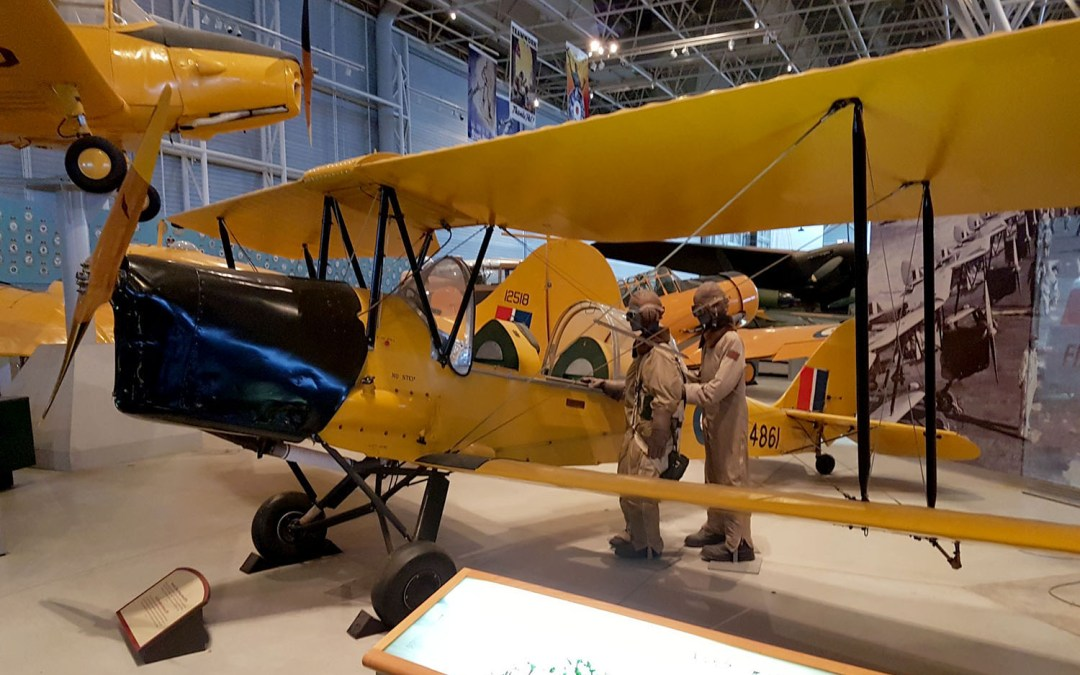 Explore Canada's Aviation Contribution to World War II at the Canada Aviation Museum