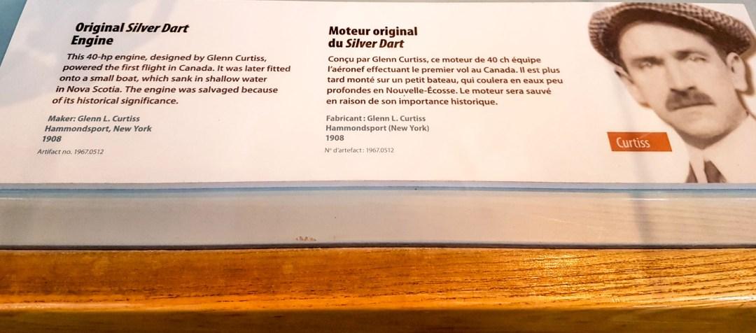 Silver Dart engine description