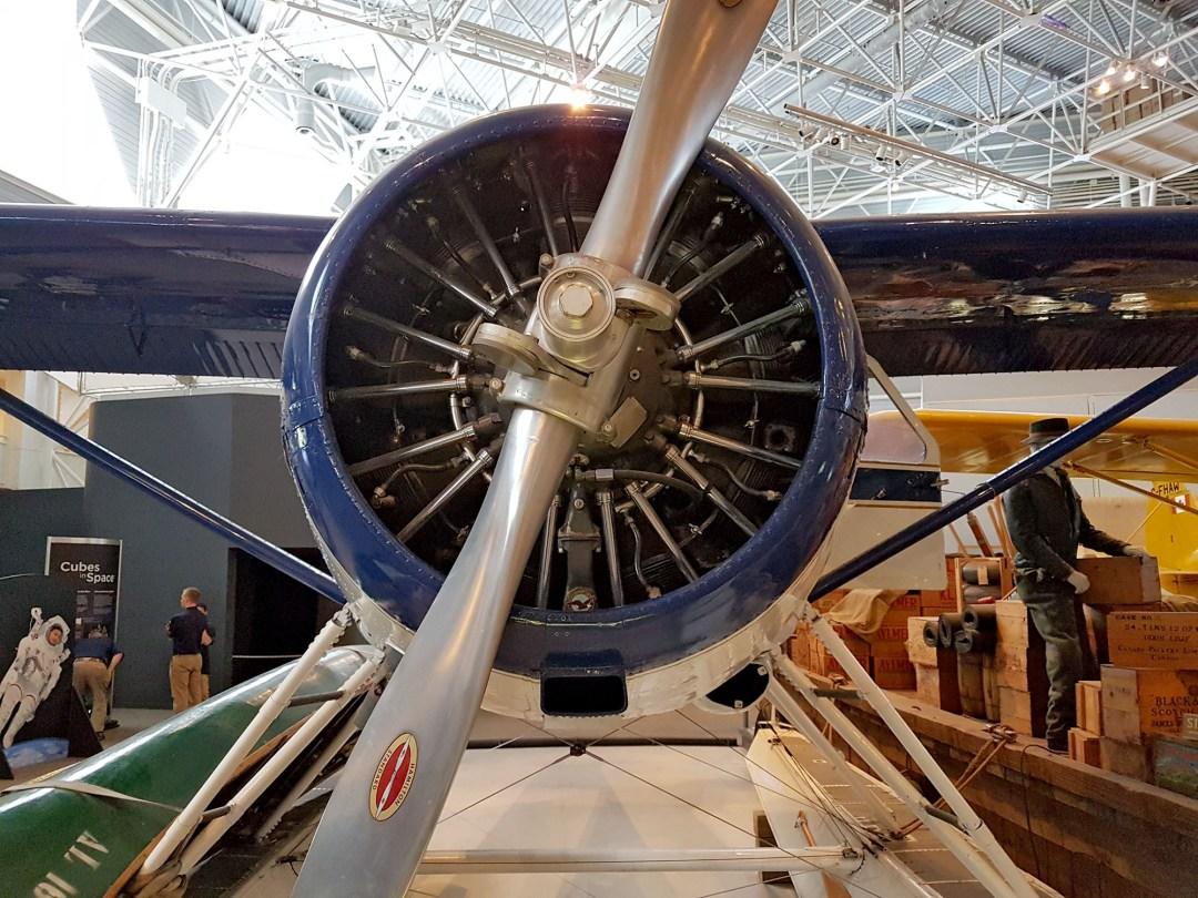 Engine of Beaver Norcanair DeHavilland DH C-2 for boomervoice