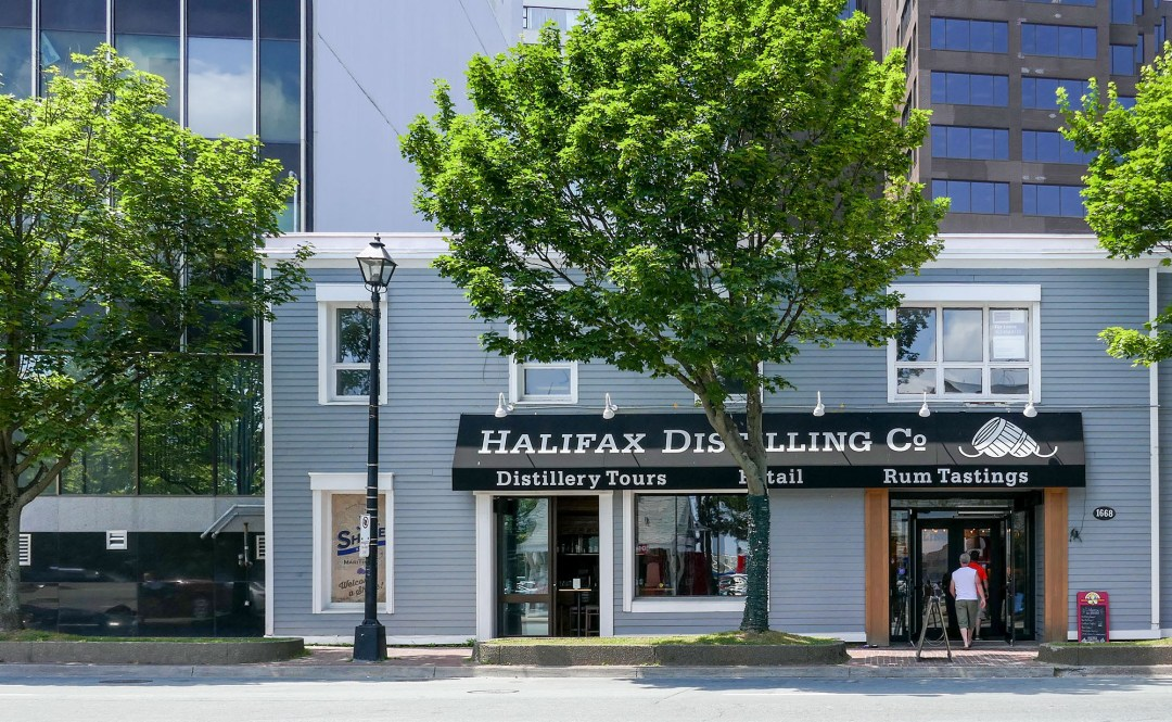 Halifax Distilling Co exterior for boomervoice