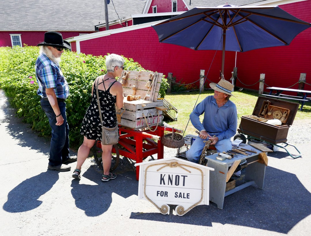 Knot for sale stand in Lunenburg for boomervoice