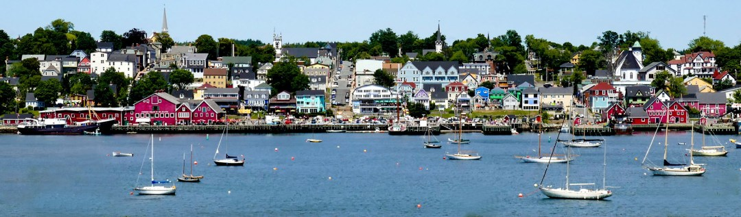 Panorama of Lunenburg for boomervoice