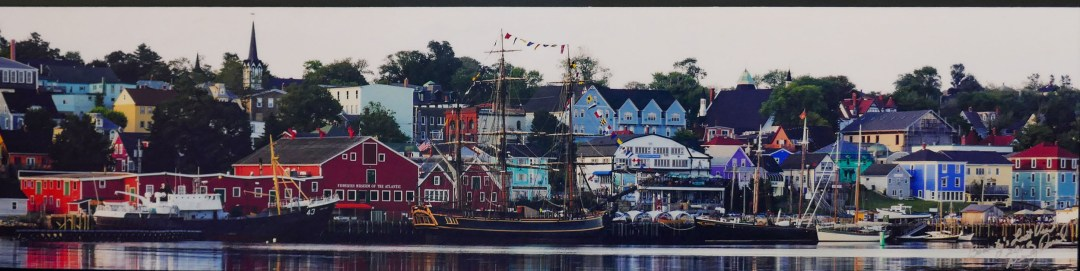 Photo of shoreline in Lunenburg for boomervoice