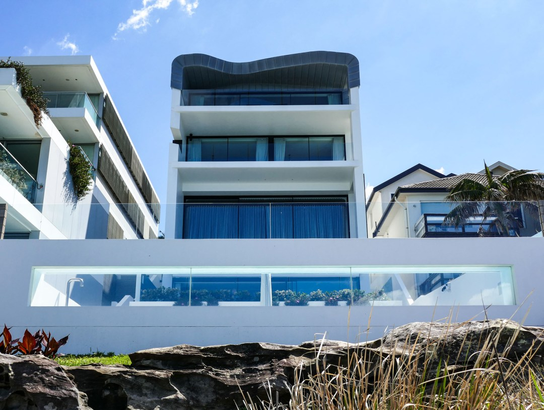 Beach house on Coogee to Bondi walk for boomervoice