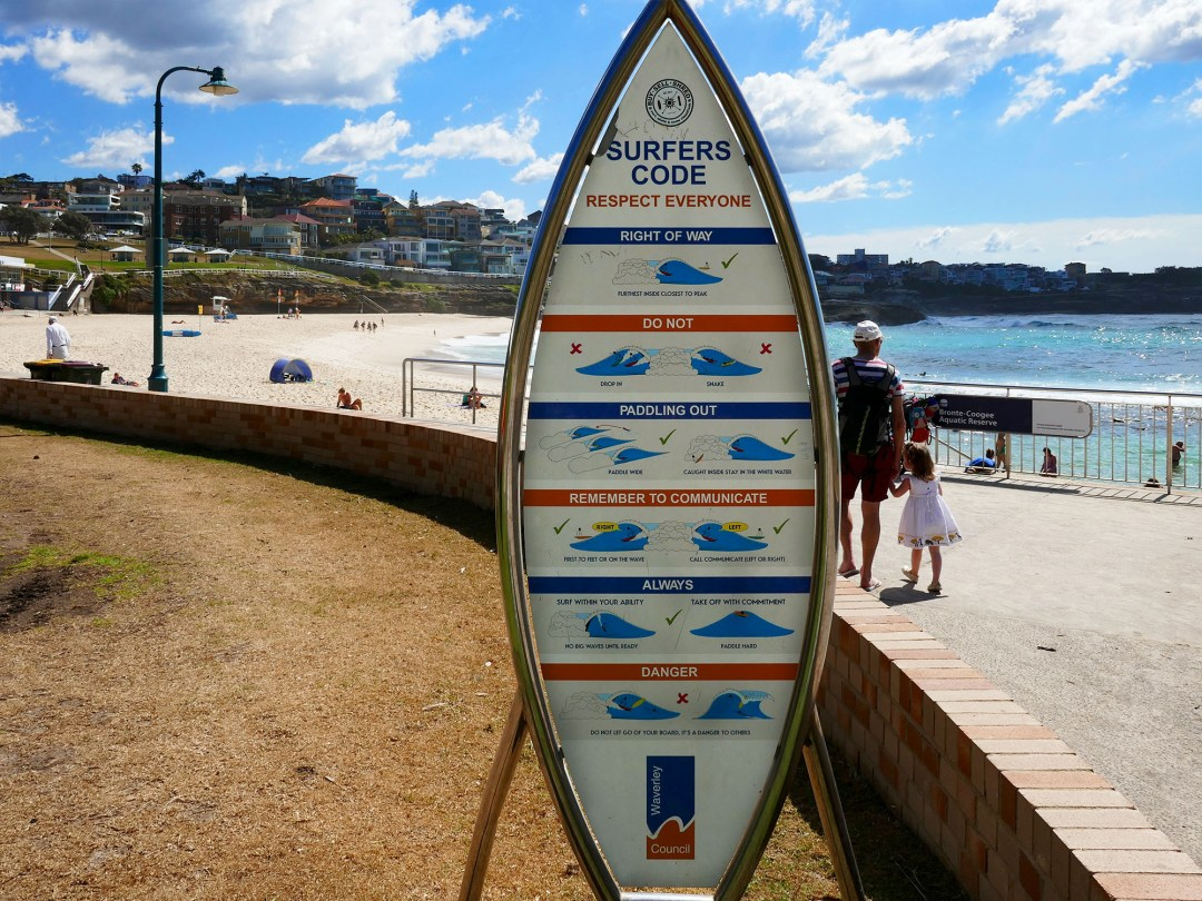 Surfers code on Coogee to Bondi walk for boomervoice