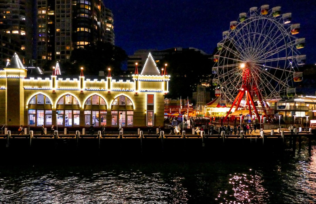 Luna Park at the International Bar Association annual conference in Sydney for boomervoice