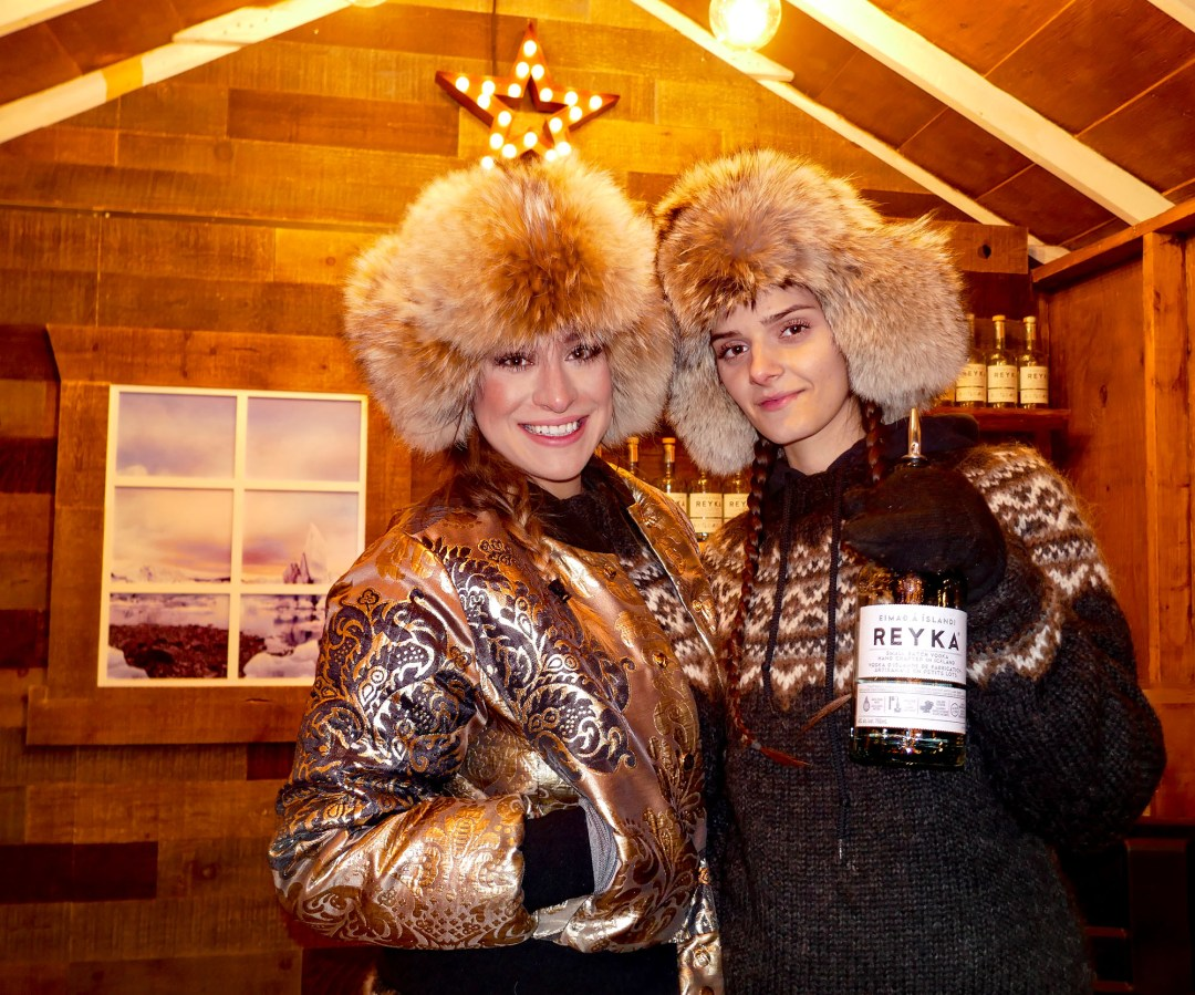 Russian Reyka vodka at the Toronto Christmas Market for boomervoice