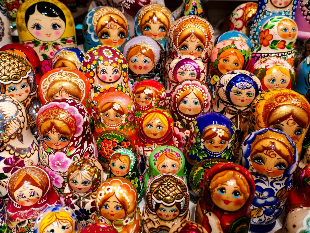 Russian dolls at the Toronto Christmas Market for boomervoice