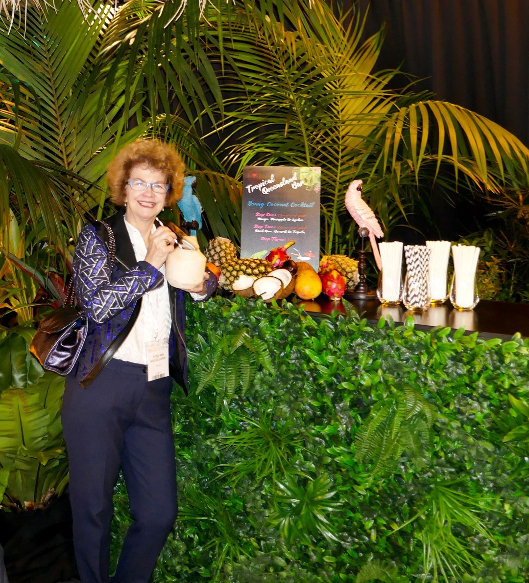 Tropical Queensland at the International Bar Association annual conference in Sydney for boomervoice.