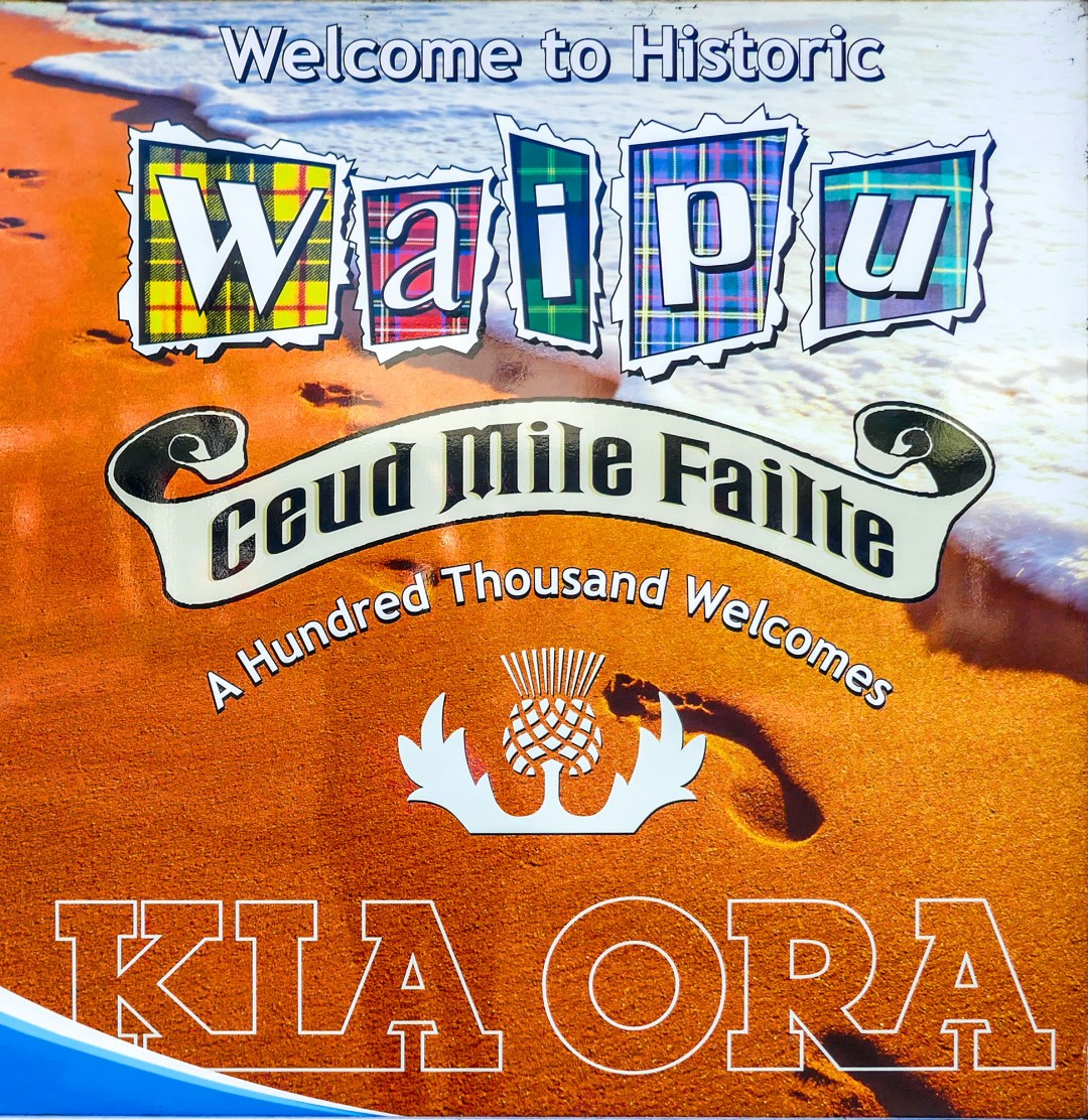 Welcome to historic Waipu with a hundred thousand welcomes for boomervoice