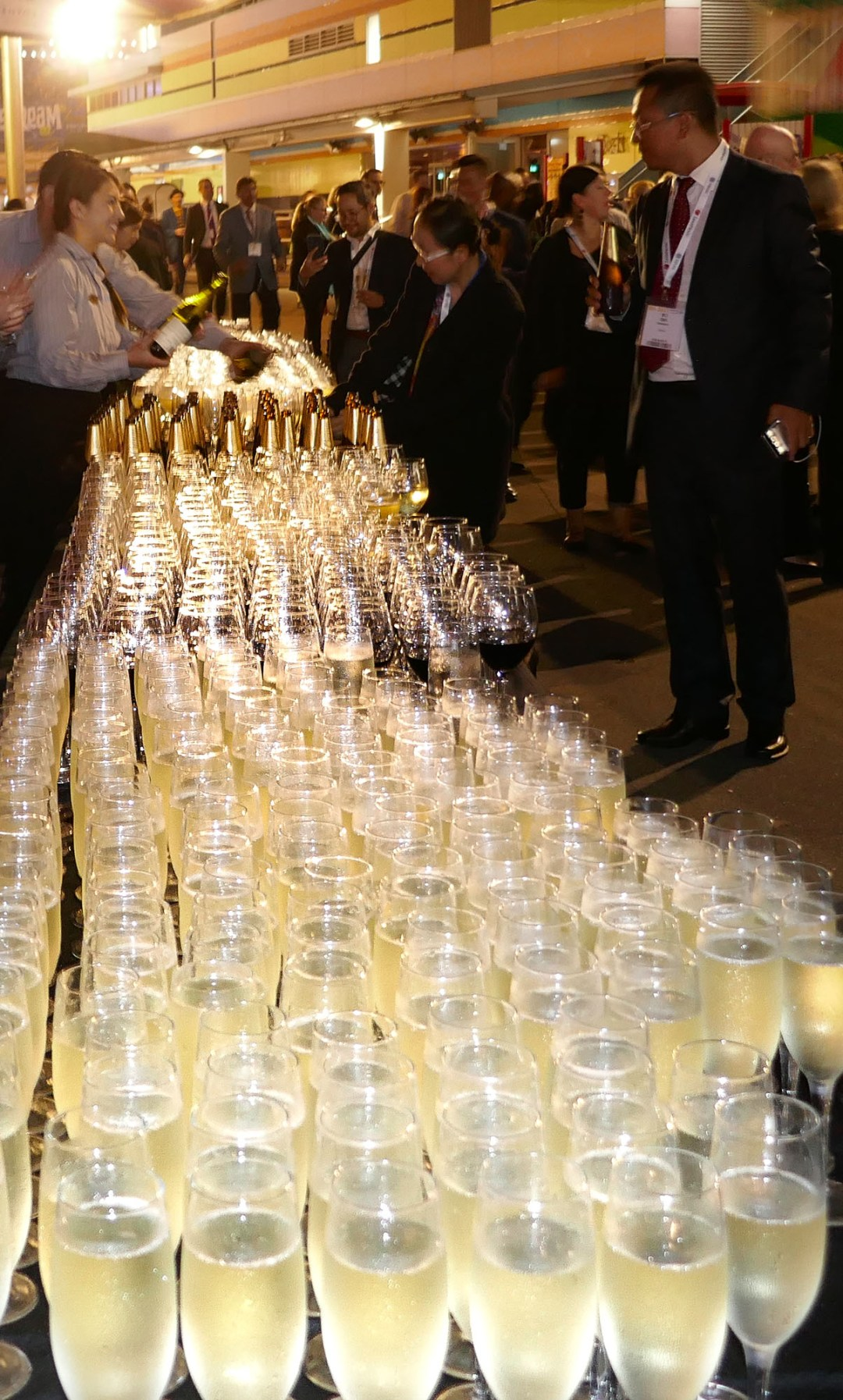 Wine bar at the International Bar Association annual conference in Sydney for boomervoice