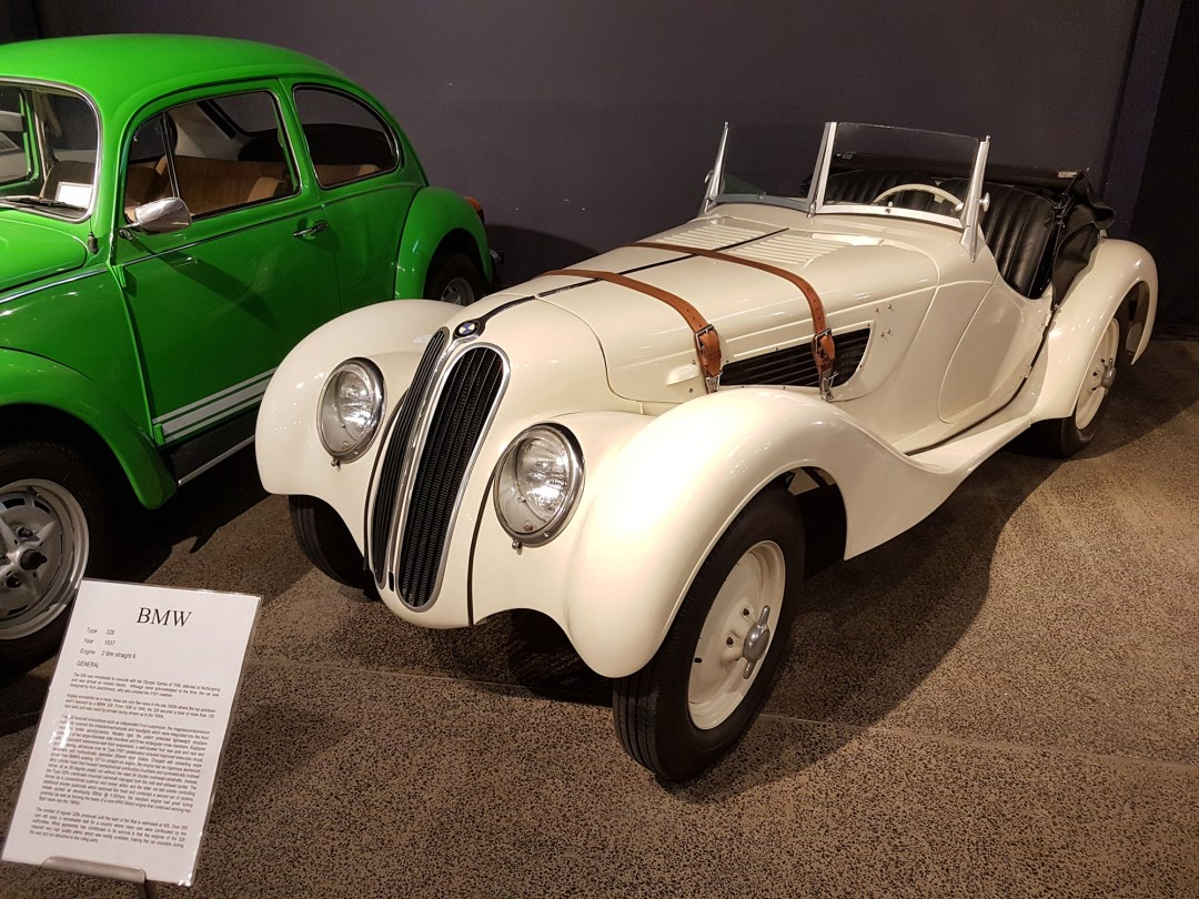 BMW 328 at WOW Classic Cars for boomervoice