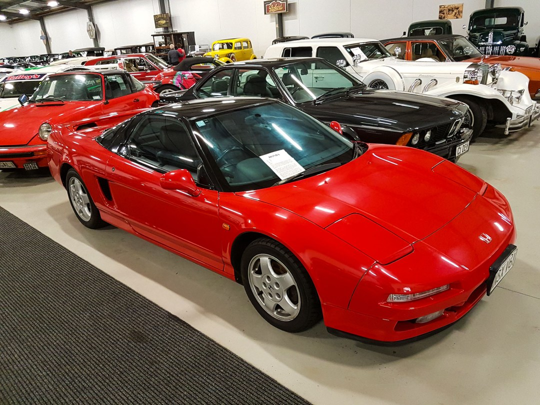 Honda NSX at WOW Classic Cars for boomervoice