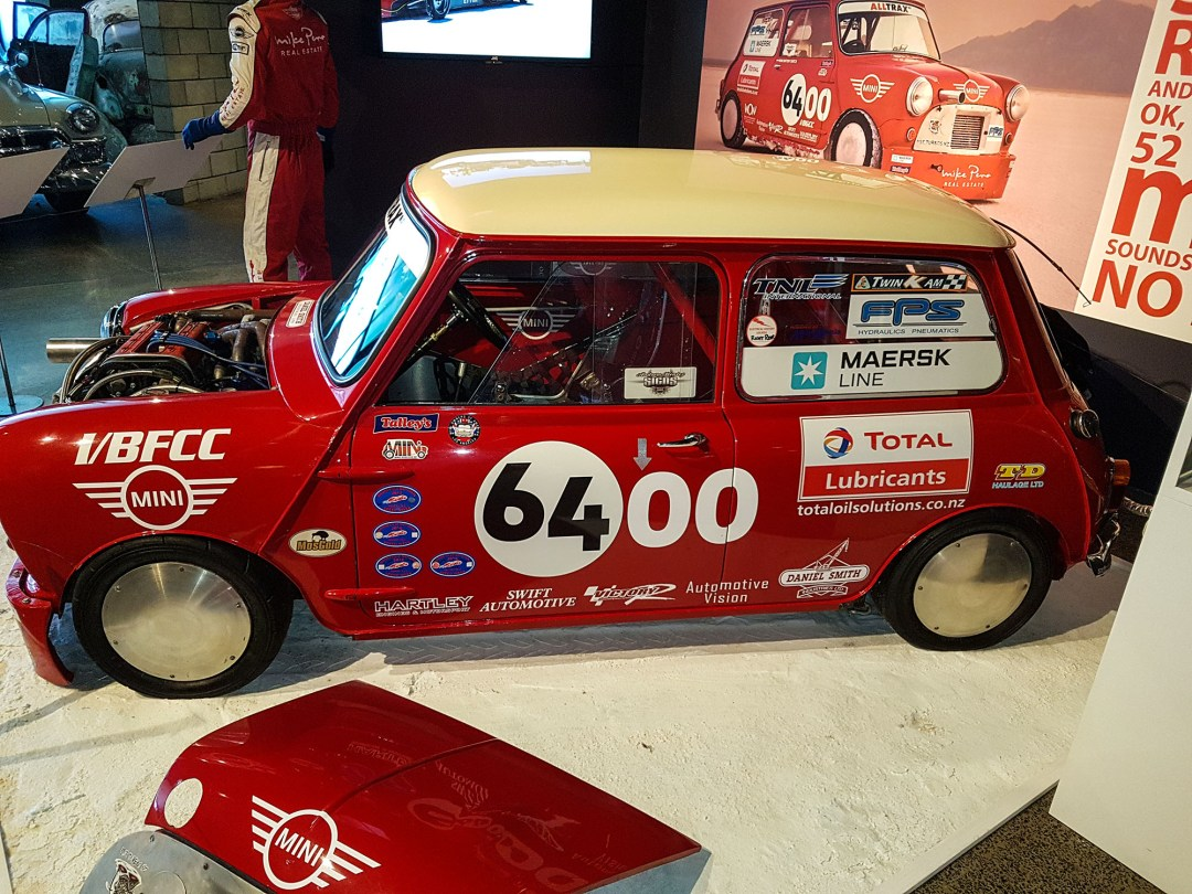 Land Speed Record Mini at WOW Classic Cars for boomervoice