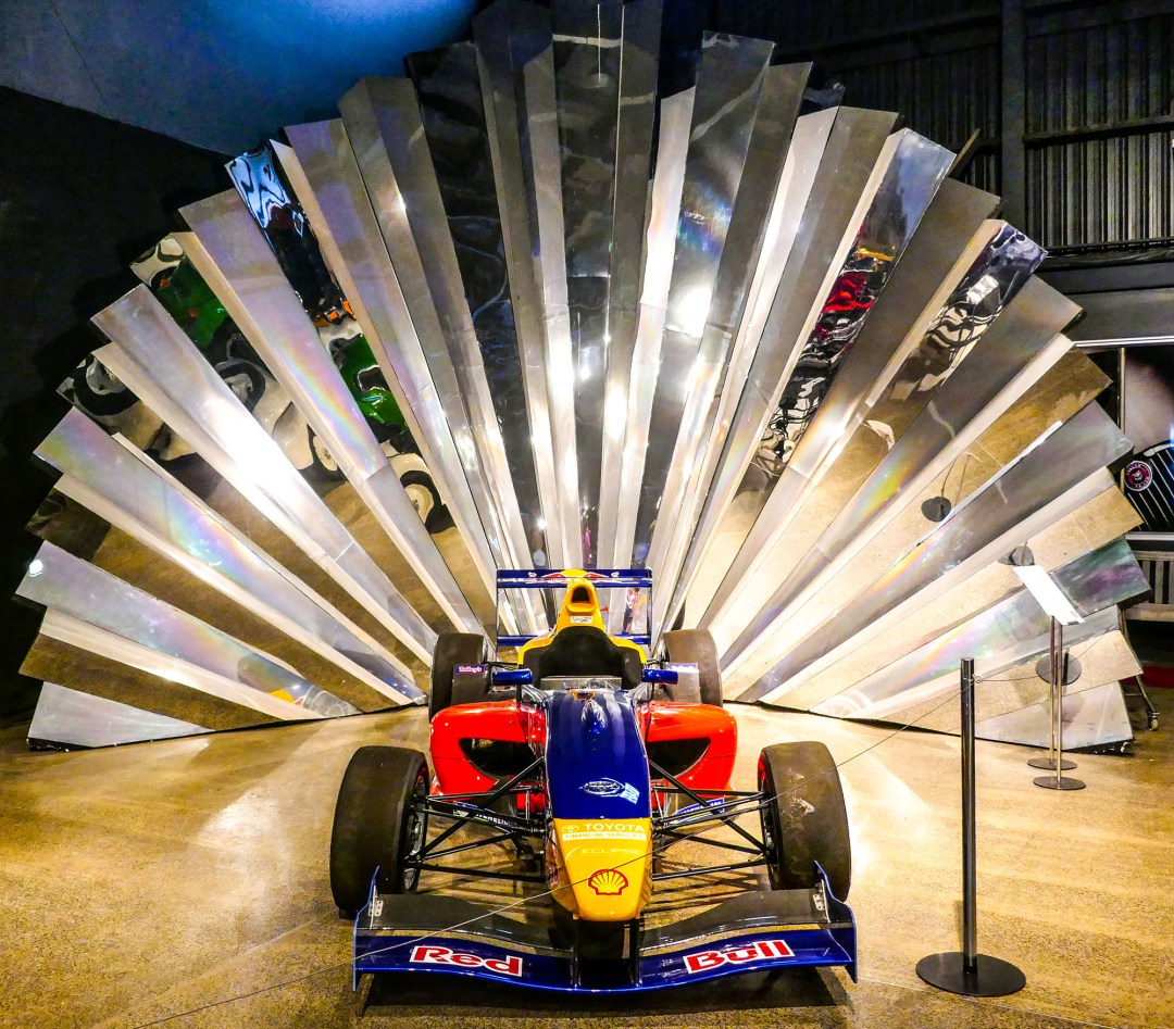 Race Car Fan Fare at WOW for boomervoice