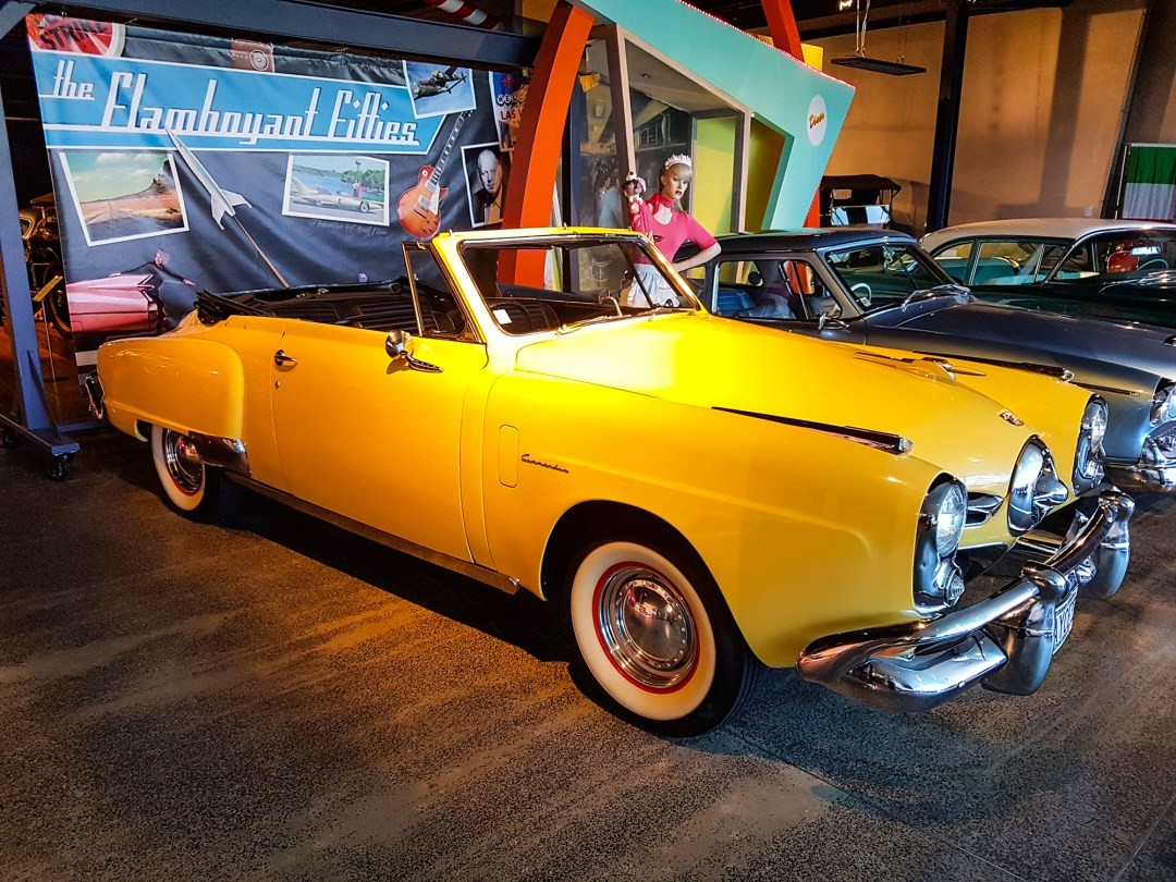 Studebaker at WOW Classic Cars for boomervoice