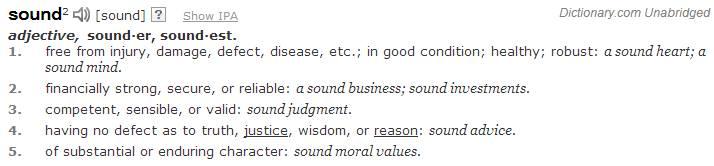 define sound