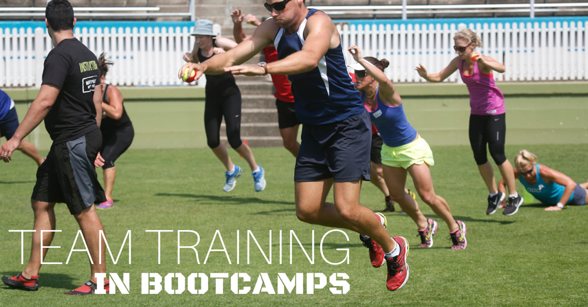 Team Training in Bootcamps (+ a sample workout)