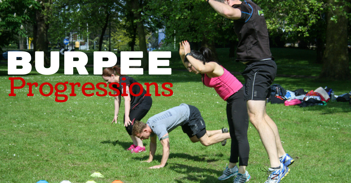 20 Awesome Bootcamp Burpee Progressions