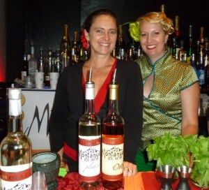 Karen (left) from Montanya Rum