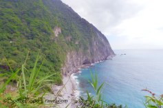 The first stop at Qingshui Cliff