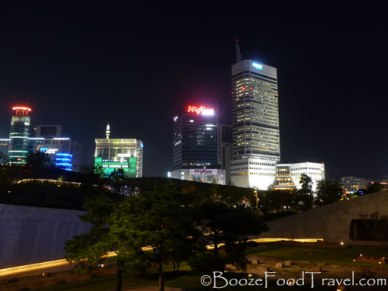 Night at Dongdaemun History & Culture Park