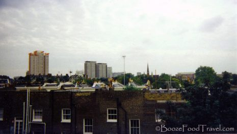 View from my apartment in northwest London