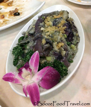 garlic-eggplant