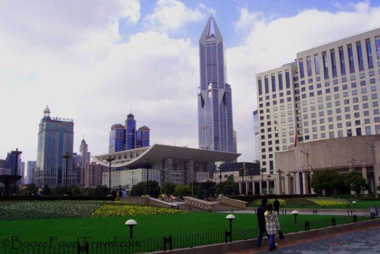 Shanghai People's Park in 2006