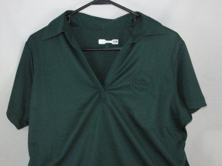 BP Ladies Polo/Dk.Grn.-L - Adult Clothing
