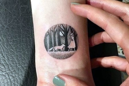 new and trendy dotwork tattoo ideas for 2016 6