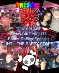 """Tatum Fundraiser Weekend"" – Friday-Sunday (Bike Night, Car wash & RIDE) – Tom's Place, HD-Cartersville and RIDE stops"