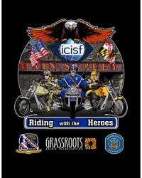 Riding With The Heroes Logo