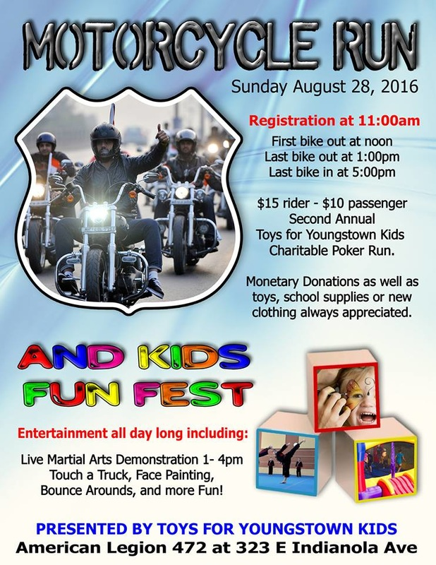 MotorcycleRun and Kids Fun Fest