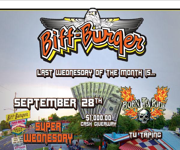 Biff-Burger Super Wednesday Bike Night