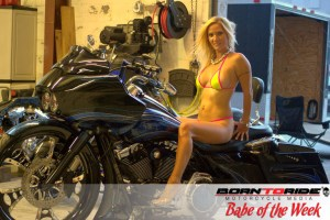 Born to Ride Babe of the Week Carol