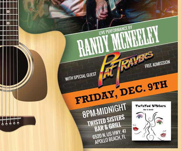 Randy McNeely Live at Twisted Sisters Bar & Grill
