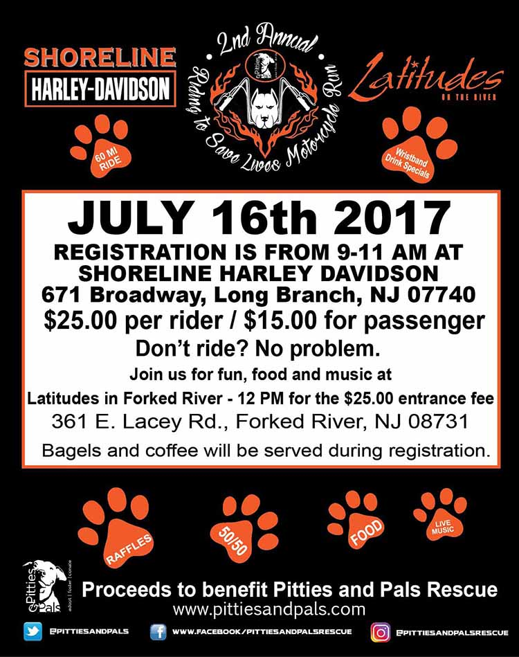 2nd Annual Riding to save lives Motorcycle Run