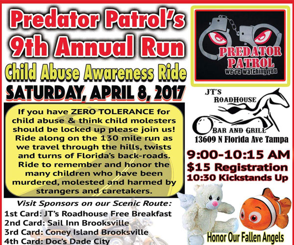 Predator Patrol 9th Annual Run