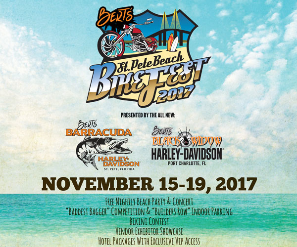 Bert's St. Pete Bike Fest