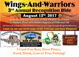 Wings-And-Warriors 3rd Annual Recognition Ride 5 Card Fun Run
