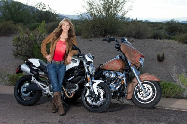 2017 Las Vegas Motorcycle Hall of Fame Inductee Genevieve Schmitt