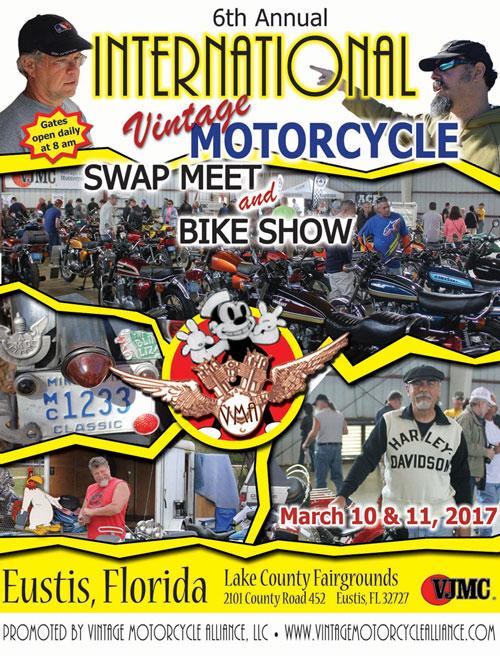 Vintage Motorcycle Alliance Swap Meet & Bike Show