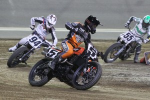 HARLEY FACTORY TEAM XG750R RUNS STRONG IN FLAT TRACK DEBUT AT DAYTONA