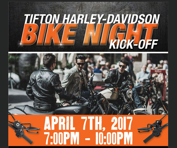 Tifton H-D Bike Night Kick-off Party